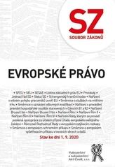 Soubor zákonů Evropské právo. Stav ke dni 1.9.2020