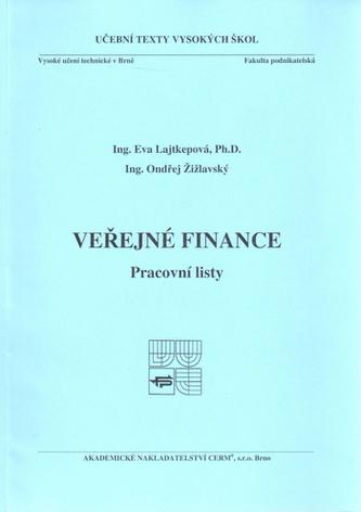 Veřejné finance-pracovní listy