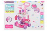 Úklidový vozík růžový
