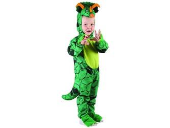 Šaty na karneval - Triceratops, 80 - 92 cm
