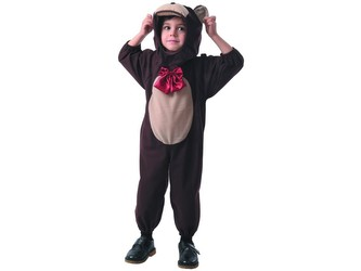 Šaty na karneval - medvídek, 92 - 104 cm