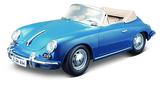 Bburago 1:18 Porsche 356B Cabriolet 1961 Blue