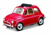 Bburago 1:24 Fiat 500L (1968) Red