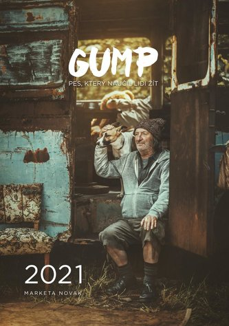 Gump - nástěnný kalendář 2021