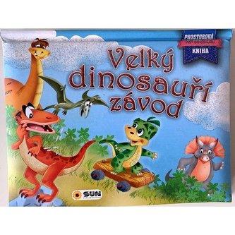 Velký dinosauří závod - Prostorová kniha