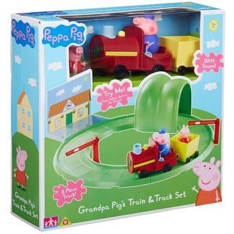 Prasátko Peppa - Vláček hrací sada