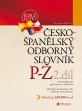 Česko-španělský odborný slovník 2. díl