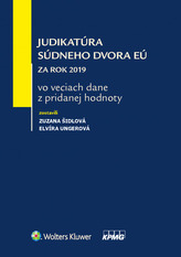 Judikatúra Súdneho dvora EÚ za rok 2019