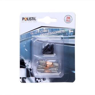 Polistil Kontakty a svorky k autodráhám Polistil 96060