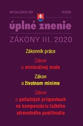 Aktualizácia III/9 2020– Zákonník práce a minimálna mzda