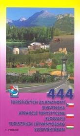 444 turistických zajímavostí Slovenska