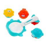 Hračky do vody koš s hračkami Akuku
