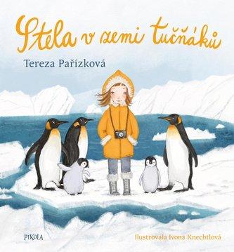 Stela v zemi tučňáků