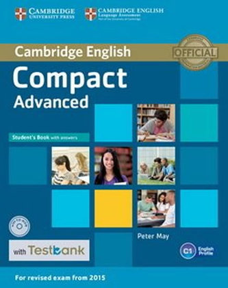 Compact Advanced Student´s Book with Answers with CD-ROM with Testbank