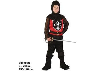 Kostým na karneval - Rytíř,130-140cm