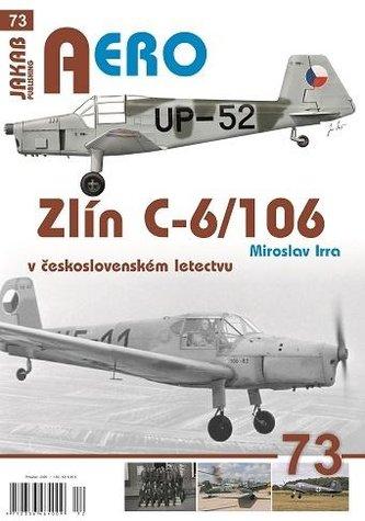 Zlín C-6/106 v československém letectvu