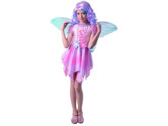 Šaty na karneval - víla motýl, 110 - 120 cm