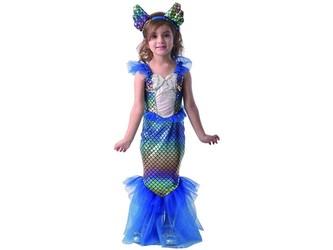 Šaty na karneval - mořská panna, 92 - 104 cm