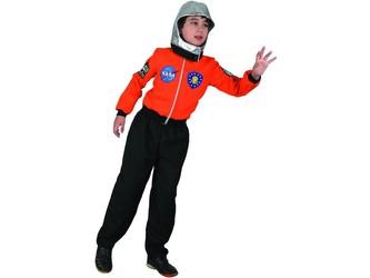 Šaty na karneval - kosmonaut, 110 - 120 cm