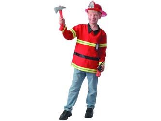 Šaty na karneval - hasič, 130 - 140  cm