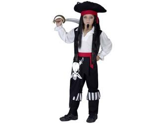 Kostým na karneval - Pirát, 110-120 cm