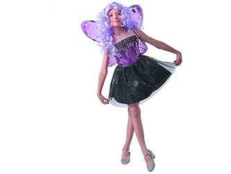 Šaty na karneval - motýl, 130 - 140  cm