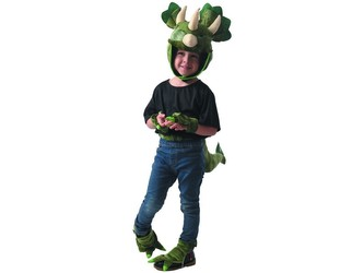 Šaty na karneval - dinosaurus, 80 - 92 cm