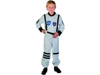 Šaty na karneval - kosmonaut, 120-130 cm