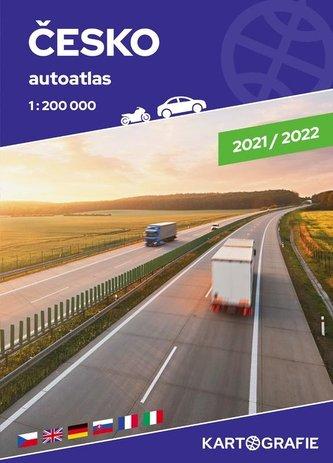 Česko - velký autoatlas 1:200 000