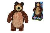 Máša a medvěd Medvěd Míša Shake & Sound, 43 cm