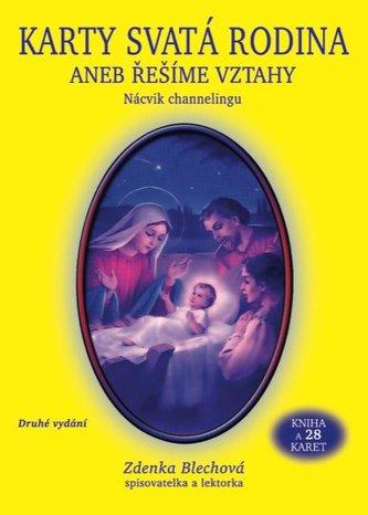 Karty Svatá rodina aneb řešíme vztahy (kniha + 28 karet)