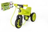 Odrážedlo FUNNY WHEELS Rider SuperSport zelené 2v1+popruh, výš. sedla 28/30cm nos 25kg 18m+ vkrab.