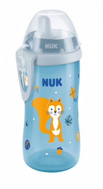 NUK FC láhev Kiddy Cup  300ml 1ks pro kluky