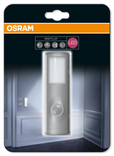 OSRAM LED Svítidlo mobilní   NIGHT LUX Torch Silver SENSOR 230V N/AW  0 noDIM A Plast lm 4000K 25000h (blistr 1ks)