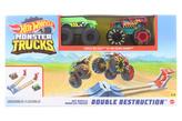 Hot Wheels Monster trucks dvojitá destrukce herní set GYC80