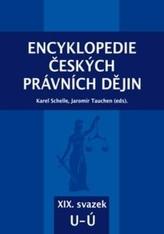 Encyklopedie českých právních dějin, XIX. svazek U - Ú