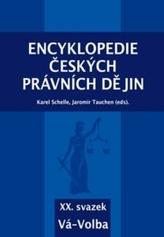 Encyklopedie českých právních dějin, XX. svazek Vá-Volba