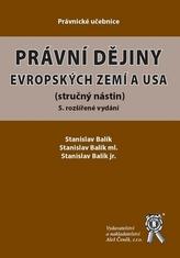 Právní dějiny evropských zemí a USA, 5. rozšířené vydání