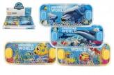 Vodní hra hlavolam 15x7cm plast mořský svět 1 ks/ 4 různé druhy