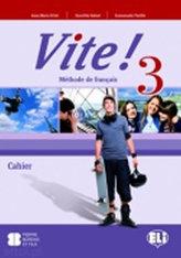 Vite! 3 Cahier + Audio CD