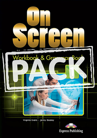 On Screen 1 - Worbook and Grammar with Digibook App. + ieBook (Black edition)