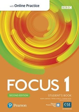 Focus 1 Student´s Book with Standard Pearson Practice English App (2nd)