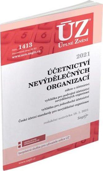 ÚZ 1413 Účetnictví nevýdělečných organizací 2021