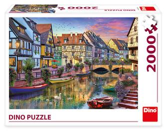 ROMANTICKÝ PODVEČER 2000 Puzzle NOVÉ
