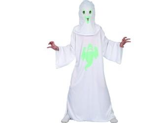 Šaty na karneval - duch, svítící ve tmě,   110 - 120 cm