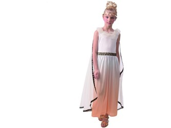 Šaty na karneval - řecký bůh, 120 - 130 cm