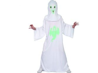 Šaty na karneval - duch, svítící ve tmě,   130 - 140  cm