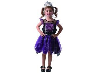 Šaty na karneval - pavoučí královna, 80 - 92 cm