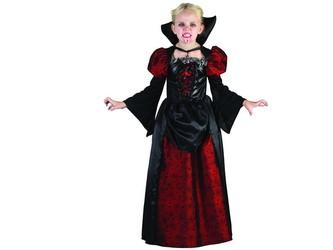 Šaty na karneval - upírka, 130 - 140 cm