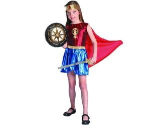 Šaty na karneval - hrdinka, 130 - 140 cm